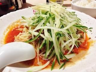 想吃担担面 栄店 - 生姜冷やし担々麺