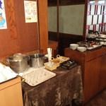 海鮮薬膳中華  トンフォン - セルフドリンクコーナー