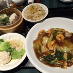 海鮮薬膳中華  トンフォン - 特選麺セット(五目入りあんかけ焼きそば)