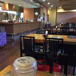 レストランかづの - ⚫︎無人の店内をパシャ!!