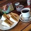 馬天使 - 料理写真:「クラブサンド ドリンクセット (1000円)」