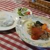 クレッソン - 料理写真:「鶏モモ肉のオリーブオイル焼 トマトソース (920円)」