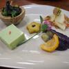 秋山郷結東温泉 かたくりの宿 - 料理写真:前菜。