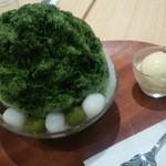 よーじやカフェ - 宇治抹茶かき氷