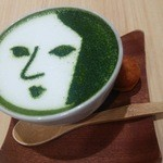 よーじやカフェ - 抹茶カプチーノ