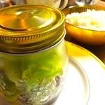 ブロカント - セット(サラダ+スープ+パンorライス)