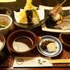 割烹 丸一 - 料理写真:活あじと天ぷらセット(1850円)
