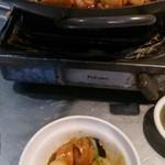 40509379 - ちょっとタイムラグがあってお腹いっぱいになっちゃったけど~焼いているのと違う煮ている感じもいいですよね。