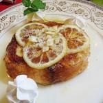 カフェ irodori - ハチミツ漬けレモンのフレンチトースト
