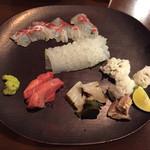 旬菜 喜いち - お刺身五種盛り