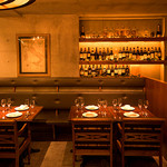 ノスタルジーテーブル - 古きイタリアをイメージした、レンガ・古材・