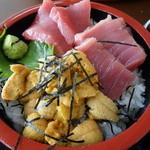 お食事処 かもめ - 料理写真:二色丼