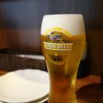ボンクラ - 2015.08 日本酒バルですが生ビールもありました。