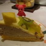 ルージュトマト - パイナップルとキウイのタルト