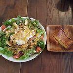 40516186 - Main Dish Salad Lunch(ニューヨークコブサラダ+フレンチトースト)