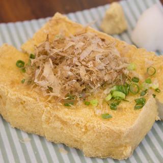 糸満の「宇那志豆腐」を使用した豆富料理
