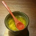 博多 魚市 - あおさの茶碗蒸し