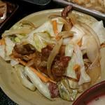 博多 魚市 - 豚の生姜焼き