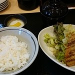 DINING-KITCHEN 蔵 - 日替わりランチ(あじフライ)