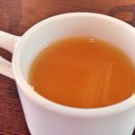 ロカボ カフェ - セットのスープ