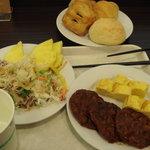 スーパーホテル - 料理写真:無料朝食バイキング