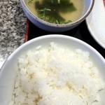 熟成焼肉いちばん  - 2015/8 スープ&ご飯