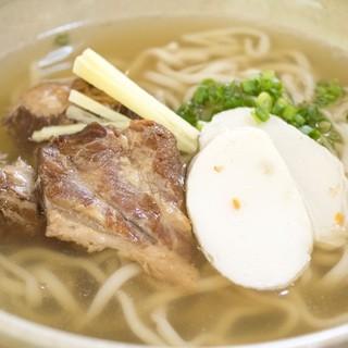 自家製麺にこだわりのスープ