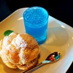 喫茶コマドリ - とうもろこしのパルフェと海のゼリー