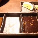 焼肉家すみび - タレは2種類