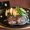 ビッグボーイ - 料理写真:国産牛と黒豚ハンバーグ
