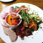 ゴン アルブル - 前菜の盛り合わせ