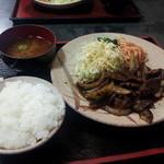 くいしん坊の店 - 13/01/19 焼肉定食790円