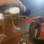 40526044 - テラス席でのビール!!