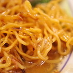 良友酒家 - カリカリの麺