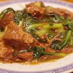 良友酒家 - 牛腩炒麺
