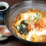 手打ちそば天ぷら 那央人 - 桜えび湯葉蕎麦「1,380円」