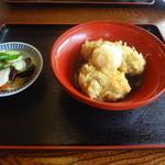 手打ち蕎麦や さ和味 - 2015/6そばがきの揚げ出し
