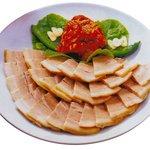 鍋ふるさと - 蒸し豚 1,000円