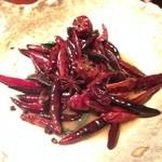40530157 - 国産牛ロースと野菜の唐辛子煮(after)