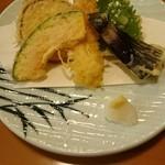 千成 - 釜めし定食(松)  天ぷら