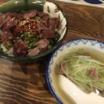 40532651 - 牛たん賄い丼とテールスープ