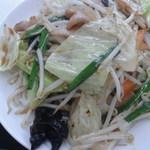 ラーメンとん太 - 野菜炒め