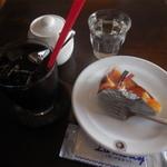 カフェ コハナ - ケーキセット¥750→¥500