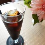 ル メルシェ カフェ - アイスコーヒー