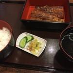 千登勢 - 料理写真:うなぎの長焼き