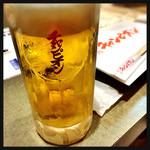 40539698 - サッポロ生ビール ジョッキ 630円
