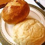 meindaininguitozakura - パン(豆乳白パンとミニバケット)