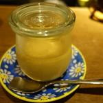 グリージョ - ほうじ茶のミルクティープリン