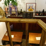 グリージョ - 半地下にテーブル席