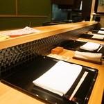 鮨 惣五郎 - カウンター席のみの小さなお店